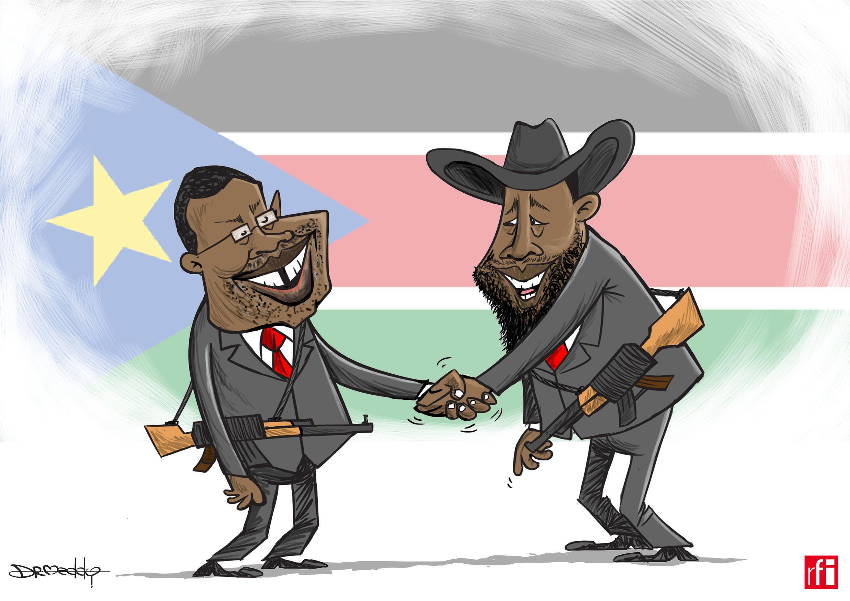 Abokan hamayya a yakin basasar Sudan ta Kudu: Riek Machar da Salva Kiir sun cimma yarjejeniyar sulhu (06-08-2018)