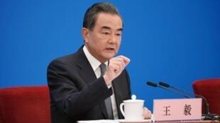 中國外交部長王毅資料圖片