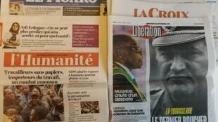 Os jornais franceses desta quarta-feira, dia 22 de Novembro.