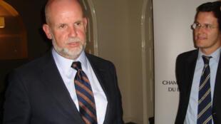 Victor de Prado, chefe de gabinete do diretor geral da OMC, na Câmara do Comércio do Brasil na França.
