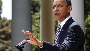 Le président Barack Obama a annoncé une série de mesures «dures» contre le régime syrien
