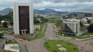 La place du 20 mai, à Yaoundé.
