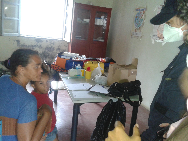 Deslocados da ilha do Fogo, em Cabo Verde
