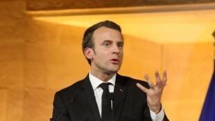 Shugaban Faransa, Emmanuel Macron