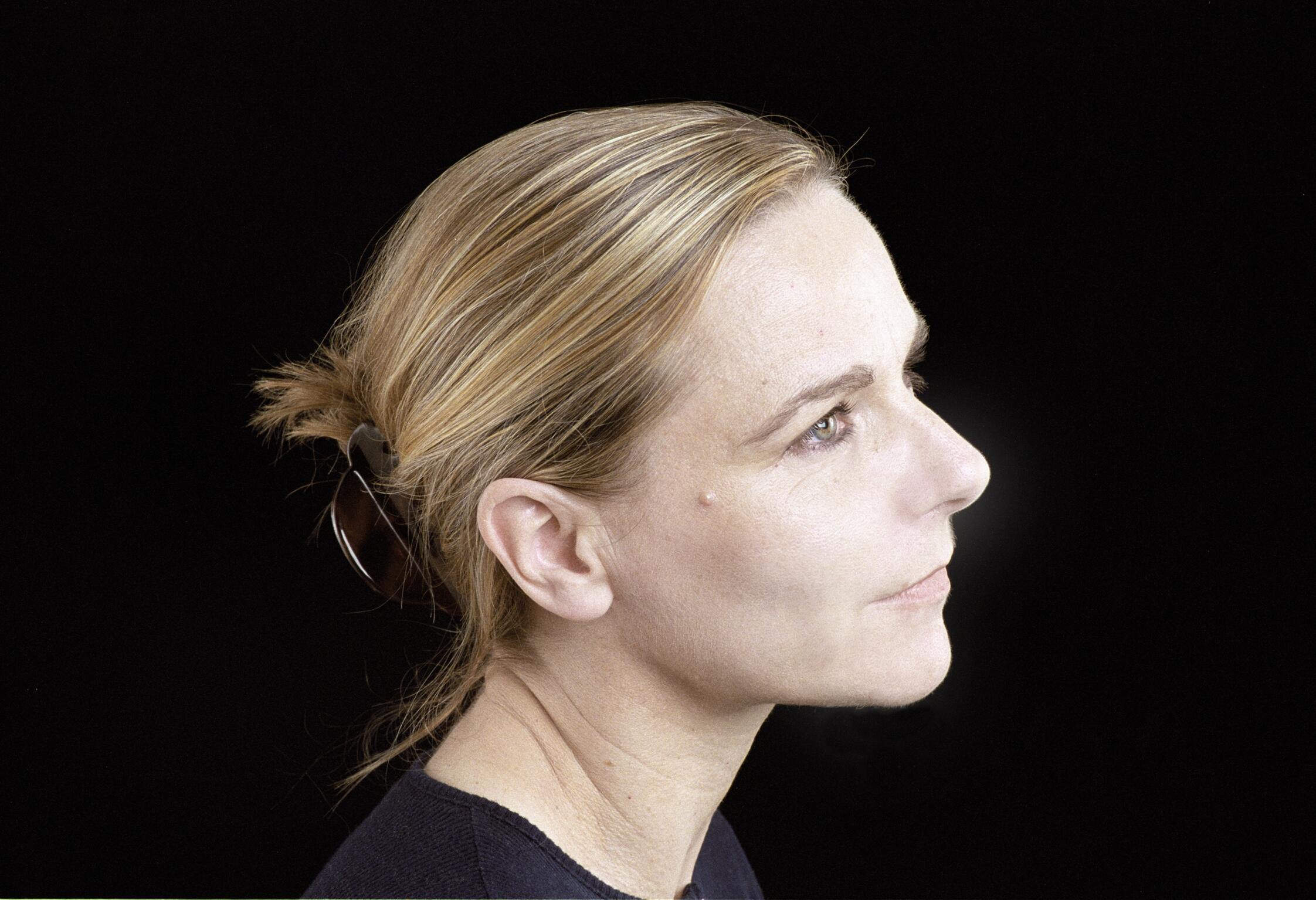 Portrait de la romancière Camille Laurens.
