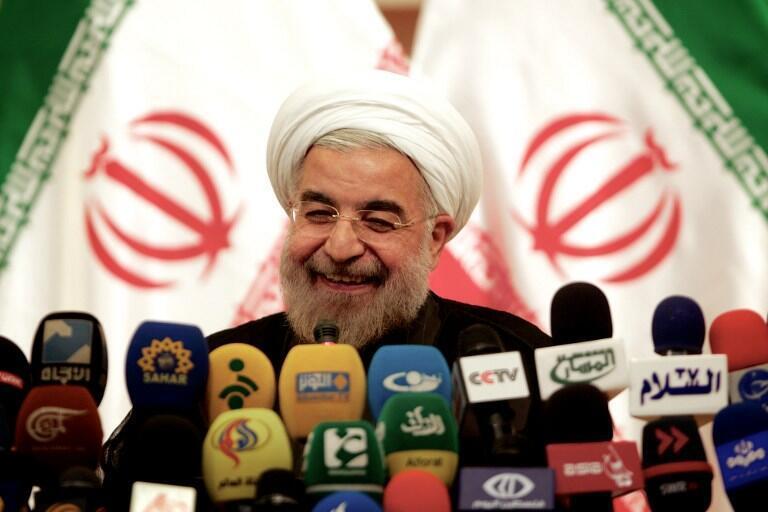 O novo presidente iraniano, Hassan Rohani, prestou juramento neste domingo, dia 4 de agosto, diante do Parlamento do país.