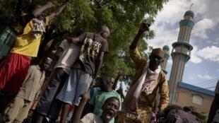 La situation est restée tendue dans le quartier de Badalabougou, fief de l'imam Dicko. Ici, le 12 juillet 2020.
