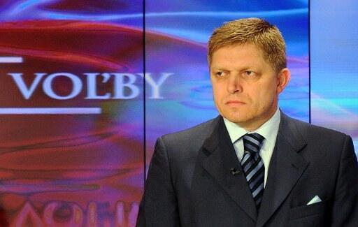 Премьер-министр и кандидат в президенты Словакии Роберт Фицо (Roberto Fico) 11 марта 2012 в Братиславе.