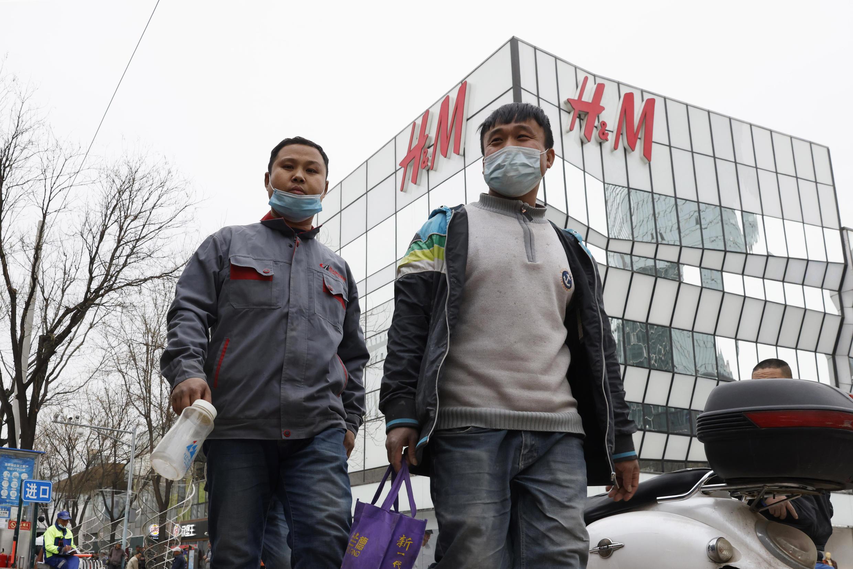 H&M store in Beijing