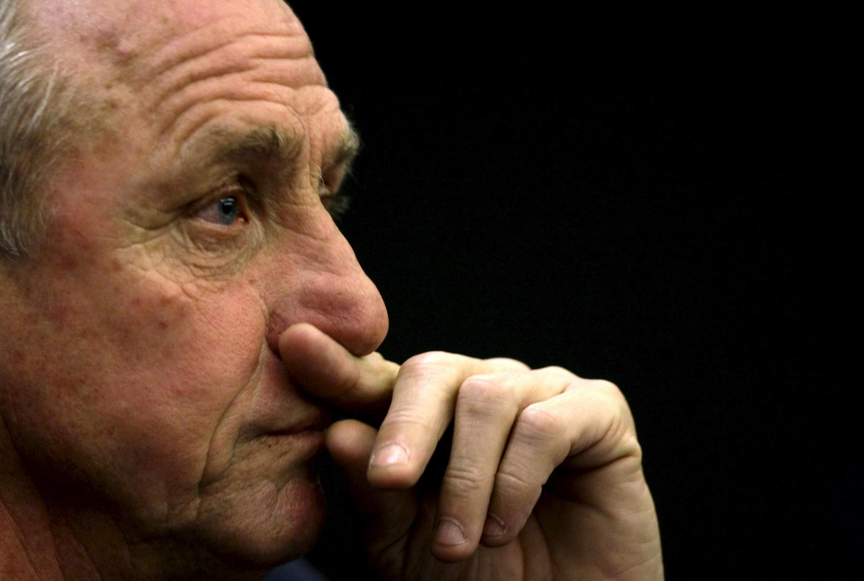 Johan Cruyff en 2009.
