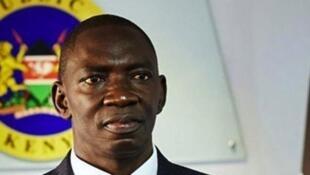 Msemaji wa serikali ya Kenya Cyrus O. Oguna.