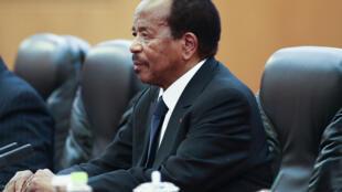 Le président camerounais Paul Biya (photo d'illustation).