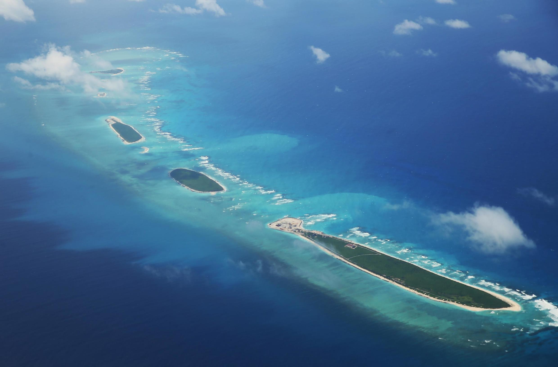 Ảnh minh họa: Nhóm đảo Thất Liên Tự thuộc quần đảo Trường Sa (Biển Đông).