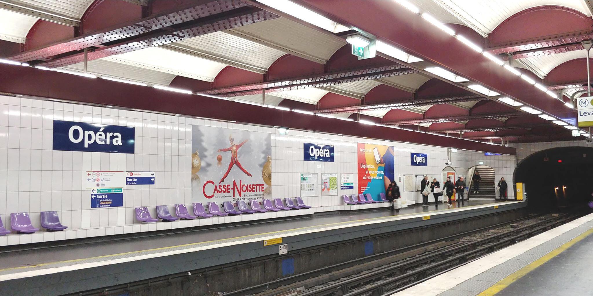 Các tuyến đường métro số 2, 6, 8, 9 đứng đầu bảng xếp hạng về các vụ móc túi trong métro