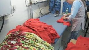 Captura vídeo de uma fábrica de produção têxtil para marca Tootsa MacGinty, no norte do Portugal.