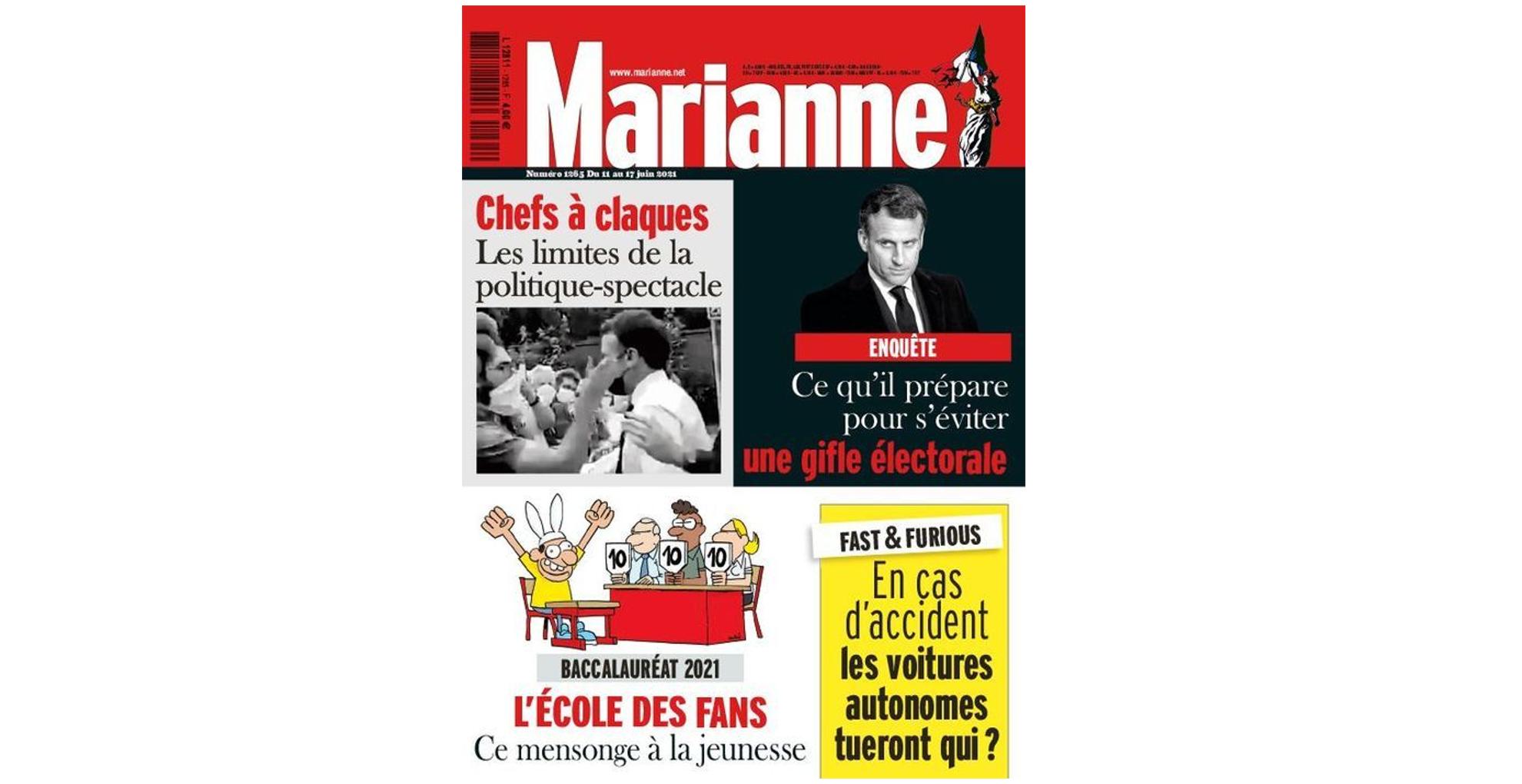 Une Marianne juin 2021