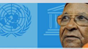 Amadou Makhtar Mbow, ancien directeur général de l'Unesco.