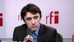 Yann Wehrling, porte-parole du MoDem