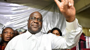 Felix Tshisekedi, à Kinshasa, en RDC le 10 janvier 2019.