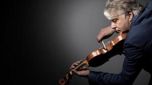 Didier Lockwood à Paris, le 31 mai 2017.