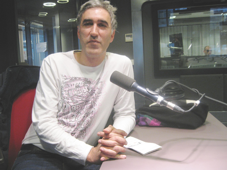 Hernán Rojo en RFI.