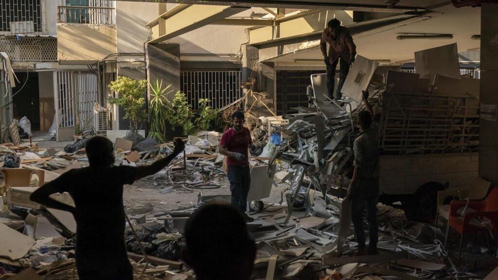 Explosion de Beyrouth: de nombreux chantiers pour venir au secours du patrimoine architectural