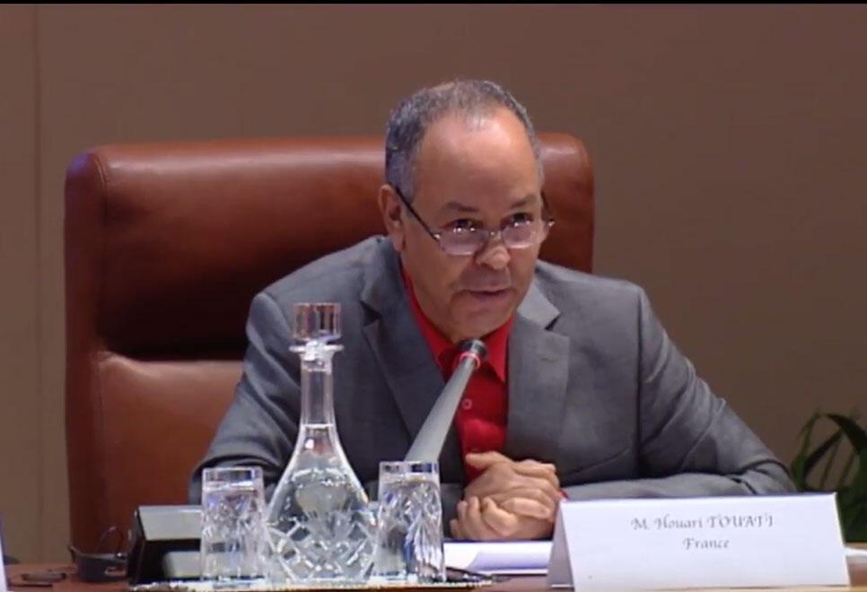 Houari Touati, historien, directeur d'études à l'Ecole des Hautes Etudes en Sciences Sociales à Paris (Capture d'écran).