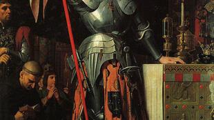 Jeanne d'Arc au Couronnement de Charles VII.