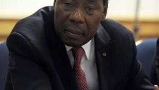 Le président du Bénin Thomas Yayi Boni le 11 septembre 2009 à Tunis.