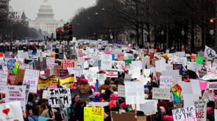 Marcha das Mulheres tem terceira edição nos EUA