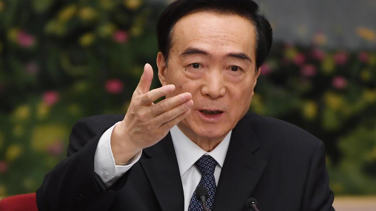 中共中央政治局委员、新疆书记陈全国。