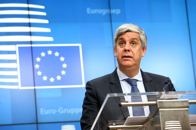 Mario Centeno, ministro das Finanças de Portugal e Presidente do Eurogrupo apela a responsabilidade dos vinte e sete membros da União Europeia,para que seja implementado um sólido plano de recuperação económica, a seguir a crise da Covid-19.