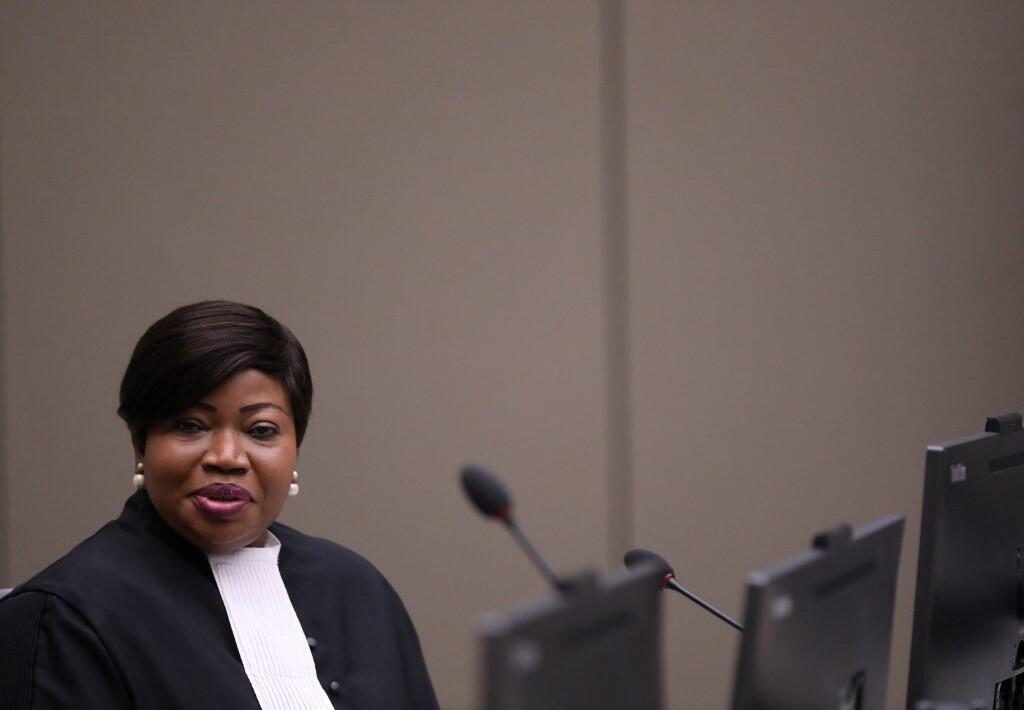 Chưởng lý Fatou Bensouda của Tòa Án Hình Sự Quốc Tế. Ảnh chụp ngày 08/07/2019.