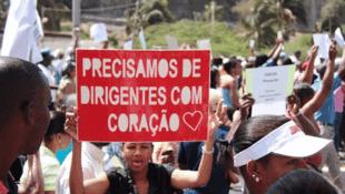 Milhares de cabo-verdianos manifestaram contra o novo estatuto dos titulares de cargos políticos