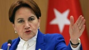 Nationalist Meral Aksener, who founded the Iyi party in October, is the first woman to ever run for president in Turkey