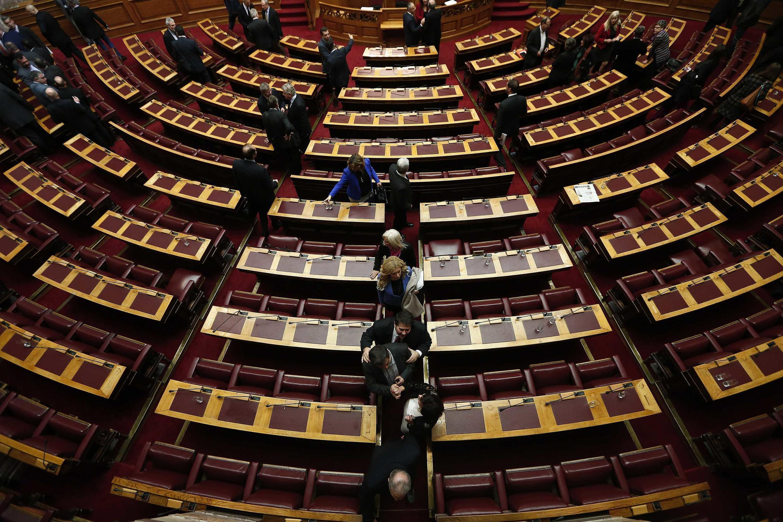 Parlamento grego, em Atenas, em foto de 23 de dezembro de 2014.
