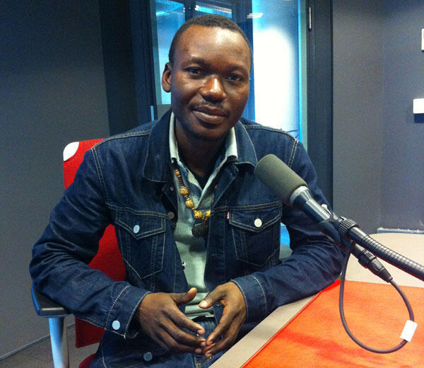 Johnny Bissakonou, journaliste centrafricain.