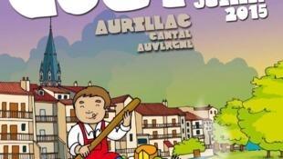 O tema desta 11ª edição do Festival de Gastronomia de Aurillac é Livro e Guloseimas.