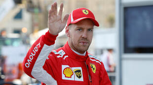 Ferrari's Sebastian Vettel leads the championship by nine points.