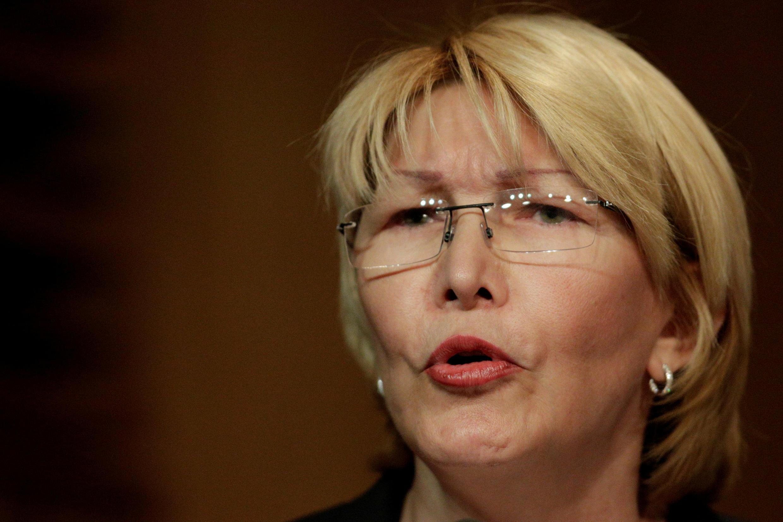 Luisa Ortega diante da justiça venezuelana