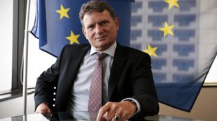 歐盟駐澳大利亞大使邁克爾·普爾奇資料圖片