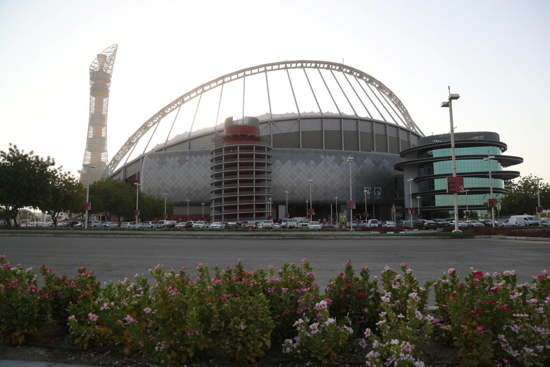 Sân vận động Khalifa International Stadium tại Doha đã hoàn tất đi vào hoạt động. Ảnh chụp ngày 14/07/2018.