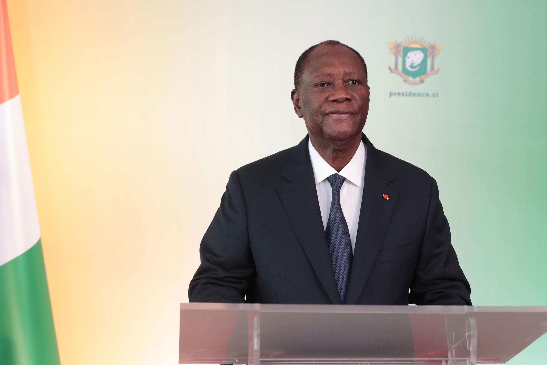 Presidente  da Costa do Marfim, Alassane Ouattara