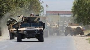 Les forces afghanes se préparent au combat durant une bataille contre les talibans dans la province de Kunduz, le 20 août 2016.