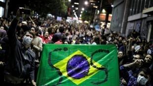 Biểu tình tại Sao Paulo Brazil đòi chính quyền bảo vệ rừng Amazon, ngày 23/08/2019.