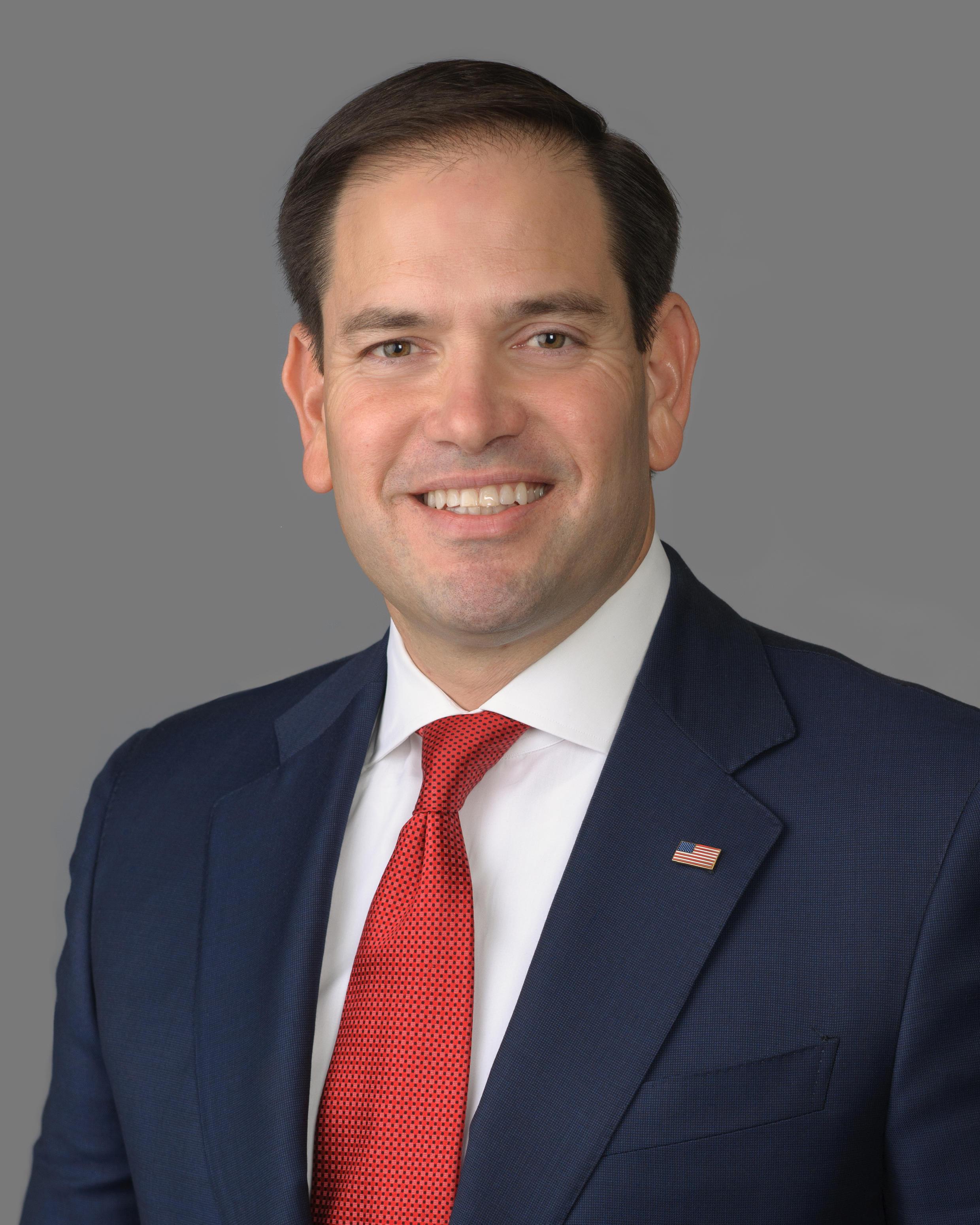 Thượng nghị sĩ Mỹ Marco Rubio, người khuyến khích đảo chính quân sự lật đổ tổng thống Venezuela Nicolas Maduro