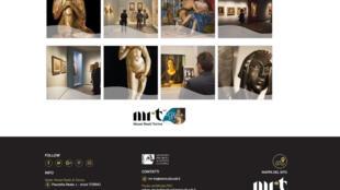 Capture d'écran du site des Musées Royaux de Turin. Cette image montre certaines des œuvres présentes dans la collection de Riccardo Gualino.