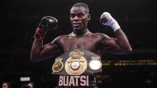 Le Ghanéen Joshua Buatsi.