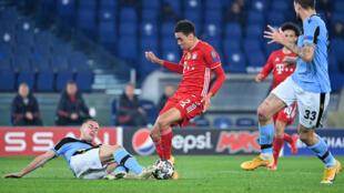 Bayern Munich midfielder Jamal Musiala will only turn 18 on Friday