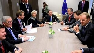 Reunião extraordinária em Bruxelas.